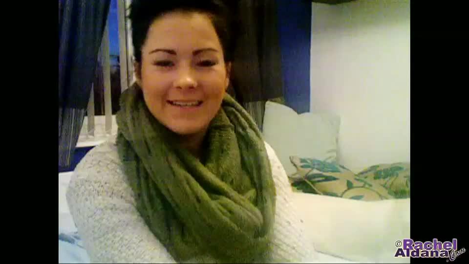 Rachel aldana  webcam 79  my tight winter sweater shows off my