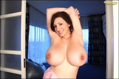 September carrino  nice in pink  set 2  giant boobs up close