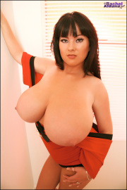 Rachel aldana  red cross dress 2  my latest big boob photo set