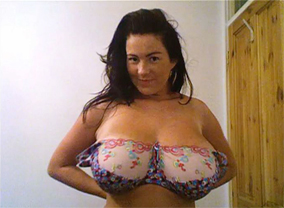 Rachel webcam97 trailer  busty rachel showing huge boobs on